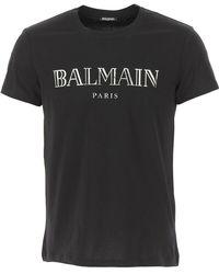 Balmain - T-Shirts für Herren - Lyst