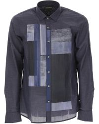 Emporio Armani - Shirt For Men On Sale - Lyst