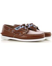 Prada - Zapatos Náuticos de Hombre - Lyst