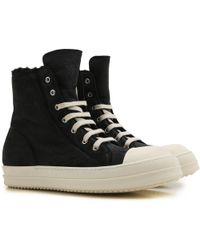 Rick Owens - Sneaker Homme Pas cher en Soldes Outlet - Lyst