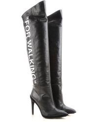 Off-White c/o Virgil Abloh - Boots For Women - Lyst