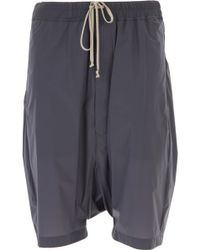 Rick Owens - Pantaloncini Shorts Uomo In Outlet - Lyst