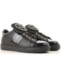 196af718b18 Lyst - Sneaker Femme Pas cher en Soldes Twin Set en coloris Noir