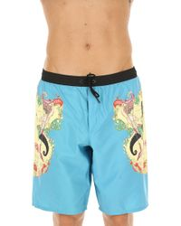 Versace - Swim Shorts Trunks For Men On Sale In Outlet - Lyst