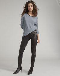 Rag & Bone - Marissa Leather Legging - Lyst