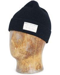 1cb277dedbe5f Lyst - Rrl Indigo Striped Trucker Hat in Blue for Men