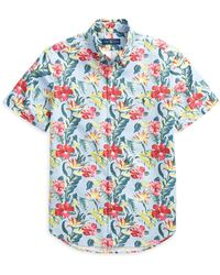 Pink Pony - Classic Fit Floral Shirt - Lyst
