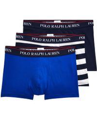 Polo Ralph Lauren - Cotton Boxer Brief 3-pack - Lyst