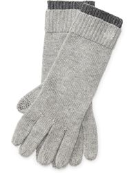Pink Pony - Monogram Touch Screen Gloves - Lyst