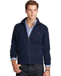 Polo ralph lauren Estate-rib Cotton Jacket in Blue for Men | Lyst