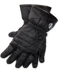 Pink Pony - Quilted Down Tech Gloves - Lyst