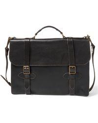 RRL - Leather Corbin Briefcase - Lyst