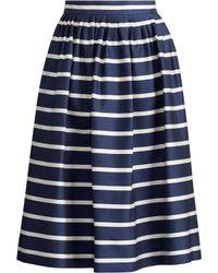 Polo Ralph Lauren - Striped A-line Skirt - Lyst