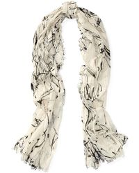 Polo Ralph Lauren | Paint Splatter Cotton Scarf | Lyst