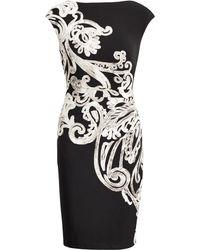 Ralph Lauren - Paisley-print Jersey Dress - Lyst