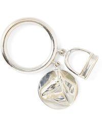 Ralph Lauren - Horse Headstirrup Charm Ring - Lyst