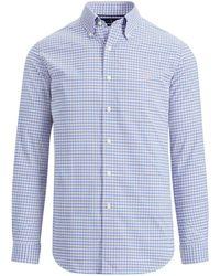 Ralph Lauren - Plaid Performance Twill Shirt - Lyst