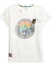 Polo Ralph Lauren - Wildlife Beaded Cotton T-shirt - Lyst