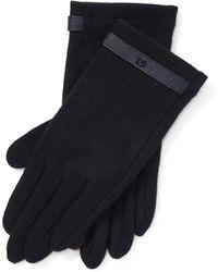 Lauren by Ralph Lauren - Wool-blend Tech Gloves - Lyst