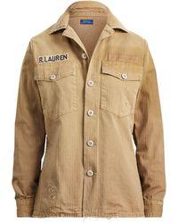 Polo Ralph Lauren - Cotton Military Shirt - Lyst
