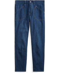 Polo Ralph Lauren - Workwear Denim Skinny Jean - Lyst