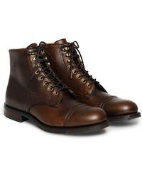 RRL - Livingstone Leather Boot - Lyst