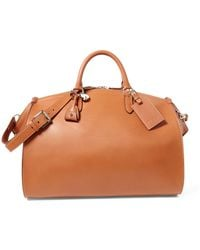6ca328d6e549 Lyst - Ralph Lauren Quilted Leather Duffel Bag in Brown for Men