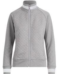 Ralph Lauren Golf - Quilted Mockneck Zip Jacket - Lyst