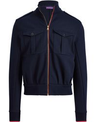 Ralph Lauren Purple Label - Cotton-blend Jacket - Lyst
