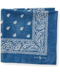 Polo Ralph Lauren - Bandanna Cotton Pocket Square - Lyst