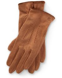 Ralph Lauren - Lambswool-blend Tech Gloves - Lyst