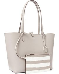 Ralph Lauren - Faux-leather Reversible Tote - Lyst