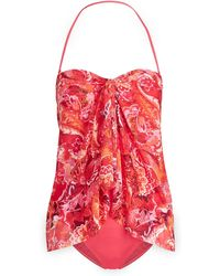 Ralph Lauren - Paisley One-piece Swimsuit - Lyst