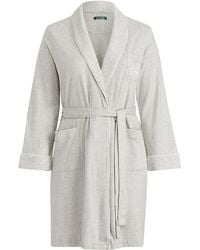 Ralph Lauren - Short Shawl-collar Robe - Lyst