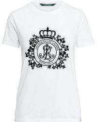 Ralph Lauren - Crest Jersey T-shirt - Lyst