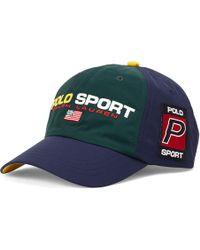 d47ae2c0 Polo Ralph Lauren - Polo Sport Nylon Cap - Lyst
