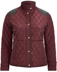 Ralph Lauren - Quilted Jacket - Lyst