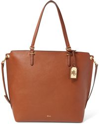 Ralph Lauren | Medium Faux-leather Abby Tote | Lyst