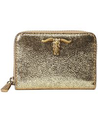 Polo Ralph Lauren - Metallic Steer-head Wallet - Lyst