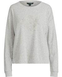 Ralph Lauren - Logo French Terry Sweatshirt - Lyst