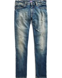 Ralph Lauren Purple Label - Slim Fit Jean - Lyst