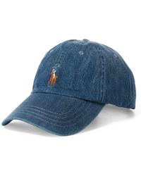Polo Ralph Lauren - Chino Cotton Baseball Cap - Lyst