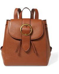 Polo Ralph Lauren - Pebble Leather Lennox Backpack - Lyst