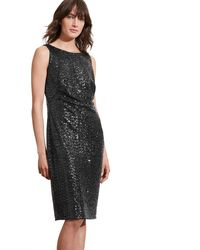 Pink Pony - Sequined-bodice V-back Gown - Lyst