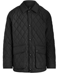 Pink Pony The Iconic Quilted Car Coat - Black