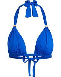 Lauren by Ralph Lauren - Halter Bikini Top - Lyst