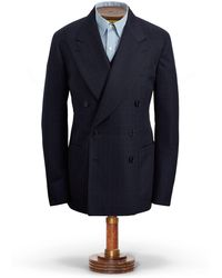 RRL - Windowpane Wool Sport Coat - Lyst