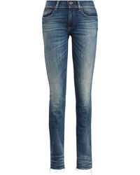 Polo Ralph Lauren - Tompkins Skinny Crop Jean - Lyst