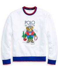 Polo Ralph Lauren - Hi Tech Bear Sweatshirt - Lyst