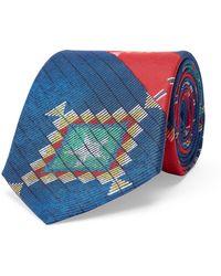 Polo Ralph Lauren   Ikat Silk Habotai Narrow Tie   Lyst